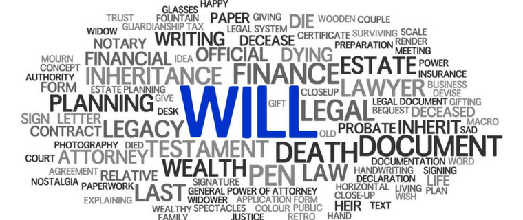 Wills, Probate and intestacy
